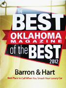 Best Oklahoma magazine 2012