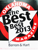 Best Oklahoma magazine 2013