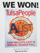 we won tulsa people Alist